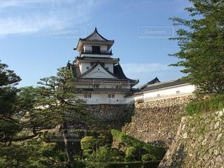 早朝の高知城の写真・画像素材[2269916]