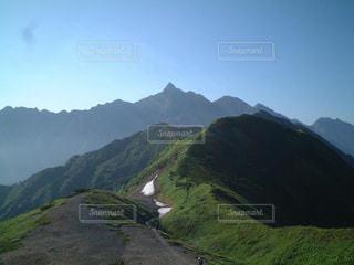 北アルプス 裏銀座コース からの槍ヶ岳の写真・画像素材[2269980]
