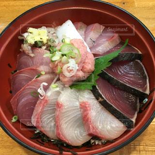 館山で食べた海鮮丼の写真・画像素材[2270452]