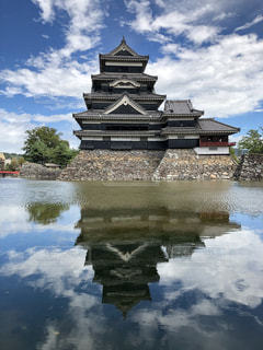 国宝 松本城の写真・画像素材[2270455]