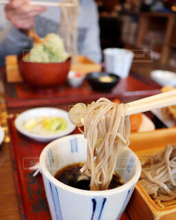 美味しいお蕎麦の写真・画像素材[4206515]
