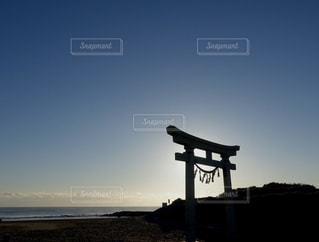 海辺の神社の写真・画像素材[2285767]