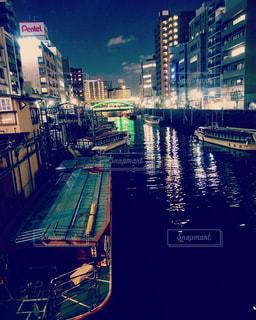 浅草橋の屋台船の写真・画像素材[2290497]