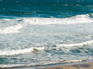 台風の海の写真・画像素材[2427374]