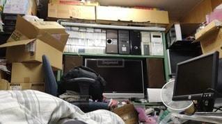引きこもりの汚部屋の写真・画像素材[2272798]