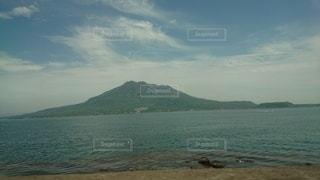 海と桜島の写真・画像素材[2274183]