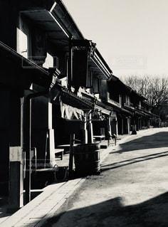 江戸時代の街並みの写真・画像素材[2483475]