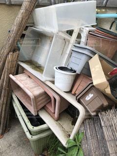 家のプラスチックゴミの写真・画像素材[3142165]