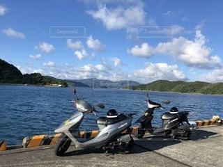 レンタバイクの写真・画像素材[2301734]