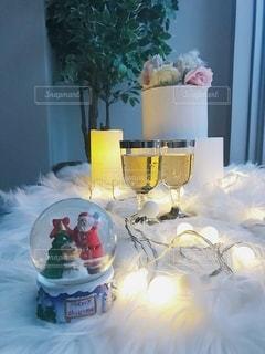 クリスマスデコレーションの写真・画像素材[2688077]