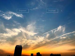 空の雲の写真・画像素材[2278105]