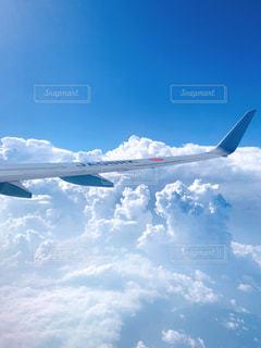 空の上、雲の上。の写真・画像素材[2417844]