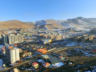 モンゴルの町並みの写真・画像素材[2284138]