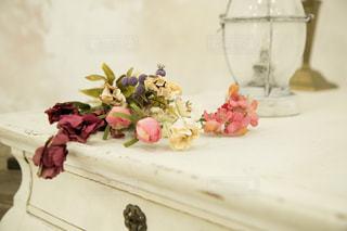 アンティークな花の写真・画像素材[2281565]