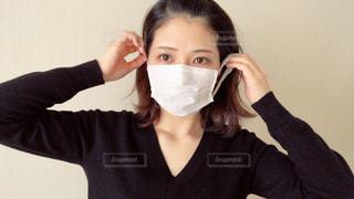 マスクをしている女性の写真・画像素材[2967846]