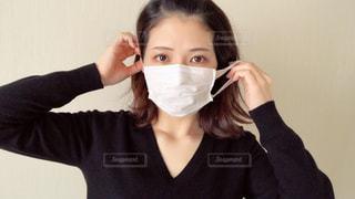 マスクをしている女性の写真・画像素材[2967847]