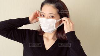 マスクをしている女性の写真・画像素材[2967848]
