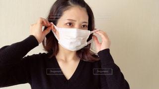 マスクをしている女性の写真・画像素材[2967849]