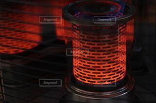 石油ストーブの炎の写真・画像素材[3974145]