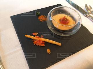 フレンチコース料理の前菜の写真・画像素材[2354392]