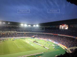 サッカー観戦の写真・画像素材[2784723]
