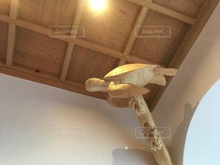 片瀬江ノ島駅の彫刻の写真・画像素材[3044789]