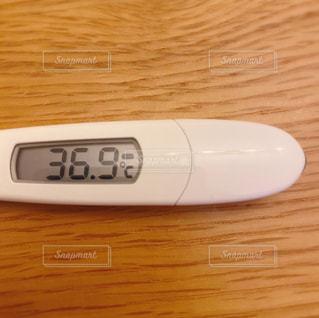 体温計の写真・画像素材[3071887]