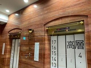 エレベーターの写真・画像素材[3364672]