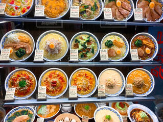 ラーメンの食品サンプルの写真・画像素材[4364422]