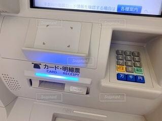 ATMの操作パネルの写真・画像素材[4674193]