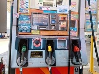 ガソリンスタンドの写真・画像素材[4674250]