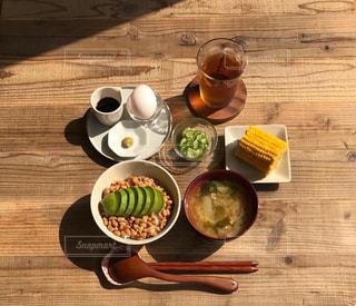 アボカド納豆定食の写真・画像素材[2331486]