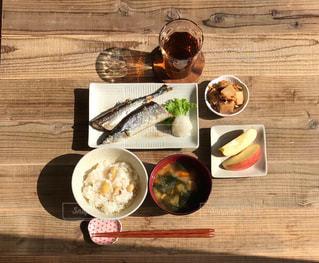 秋定食の写真・画像素材[2486406]