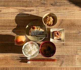 焼きサバ定食の写真・画像素材[2833410]