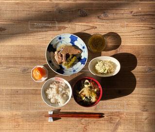木製生節の煮付け定食の写真・画像素材[3041272]
