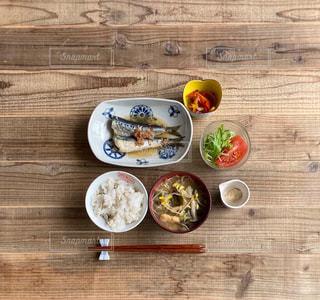 鰯の梅煮定食の写真・画像素材[3320842]