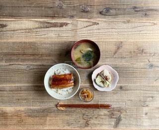 うな丼定食の写真・画像素材[3478750]
