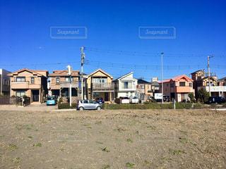海岸沿いの家の写真・画像素材[2284570]
