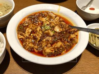 麻婆豆腐の写真・画像素材[3991345]