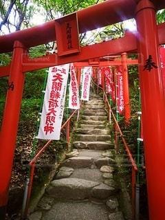 天に続く階段の写真・画像素材[2381447]