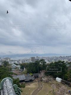 松江城からの眺めの写真・画像素材[2293789]