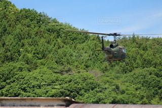 陸上自衛隊ヘリコプターの写真・画像素材[3336989]