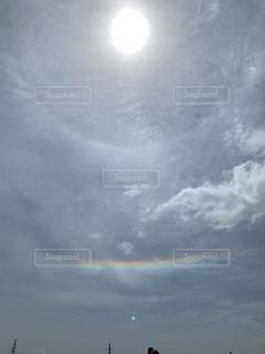 空に雲の群しをするの写真・画像素材[2300215]