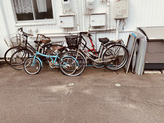 自転車たちの写真・画像素材[2311098]