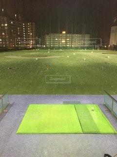 ゴルフ練習場の写真・画像素材[90361]