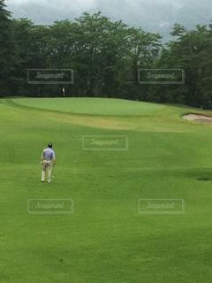 ゴルフコースの写真・画像素材[125808]