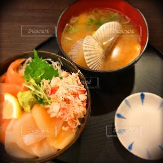 札幌の海鮮丼の写真・画像素材[1106562]