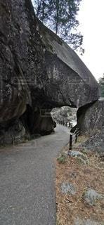 昇仙峡の岩穴の写真・画像素材[2824187]