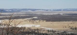 釧路湿原の冬の写真・画像素材[2931415]