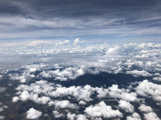 空と雲と渦の写真・画像素材[2308040]